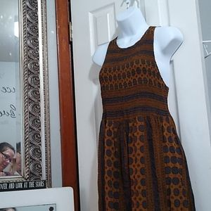 NWOT Stunning Maxi Dress by Bleuh Ciel Small